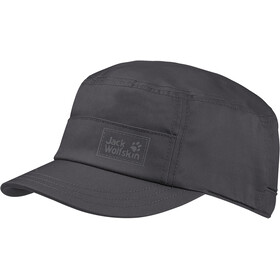 Jack Wolfskin Cappello safari, dark steel